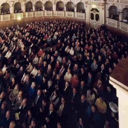 Teatro Comunale di Bologna Pubblico in sala Bibiena