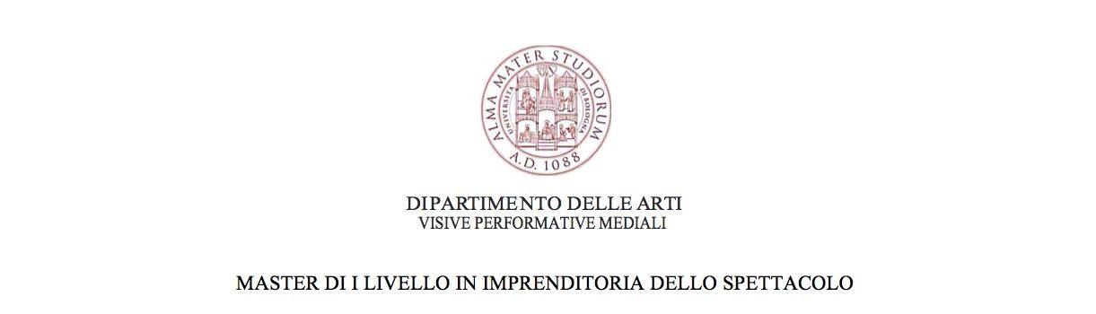 Unibo Calendario.Master In Imprenditoria Dello Spettacolo A A 2018 2019